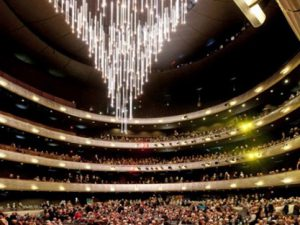 AT&T Performing Arts Center names chandelier for the Moody
